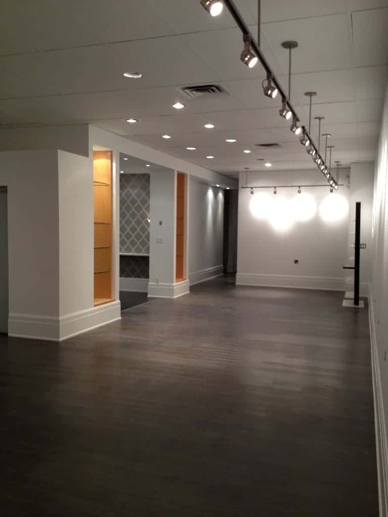 Commercial Salon Renovation Oakvill