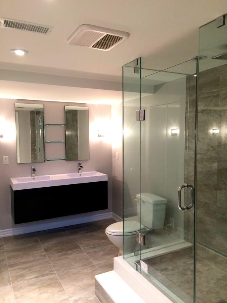Bathroom renovations renovation contractor oakville for Bathroom renovations