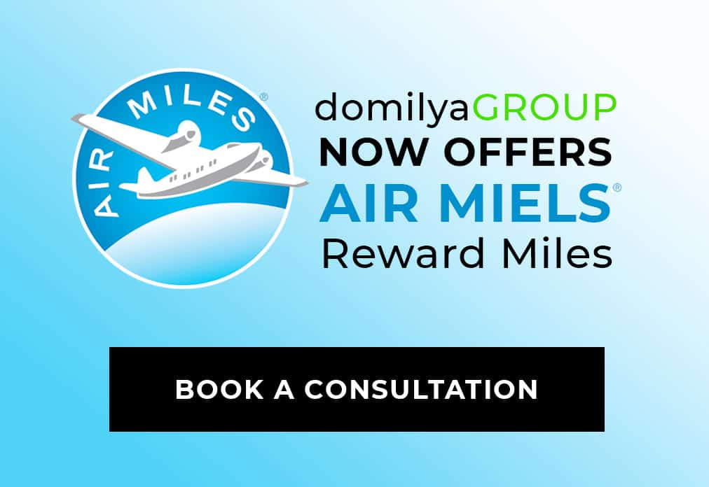 domilya GROUP Now Offers Air Miles Rewards Miles