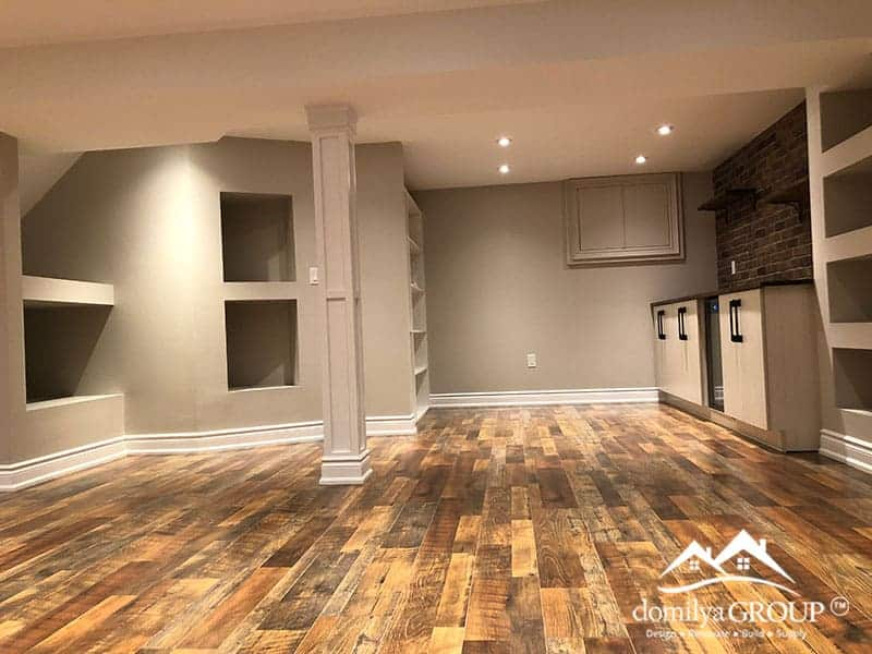 Basement Renovation In Milton